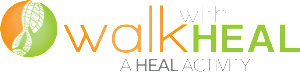 Walk with Heal logo