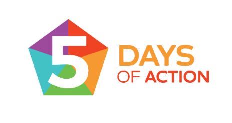 5 days of action crop